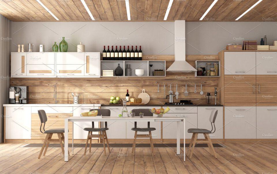 madera para cocinas